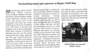 2010 WMU Interns article