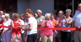 Lakeview Foundation Thrift Shop Ribbon Cutting 7 18, 2012 (9)