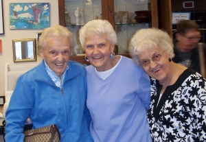 Sister Shoppers.....Ages 93, 89, 86
